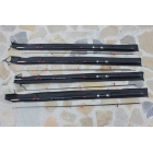 Set 4 Lansete Baracuda Fibra Plina 2,7 Metri UP To 500 Grame ( Pachet economic )