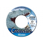 Fir Jaxon Crocodile Winter Rola 50 metri 0,20mm Pescuit la copca ZJ-CRW020D