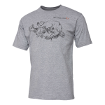 TRICOU CANNIBAL INK GREY MELANGE MAR.XL