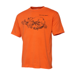 TRICOU CANNIBAL INK ORANGE MAR.XL