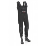 Waders DAM H2O Wader Cleated Sole 40-41 Vader Neopren D.a.m. Cizme Piept